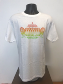 **NEW** Channel One T-Shirt LIONS - Gildan Cotton White/ Red to Green fade print (Various sizes)